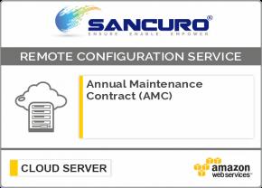 Annual Maintenance Contract (AMC) For AWS Cloud Server Configuration