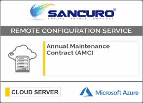 Annual Maintenance Contract (AMC) For Azure Cloud Server Configuration