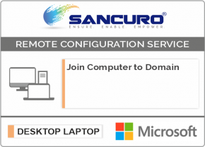 Join Computer to Active Directory Domain