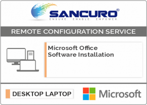 Microsoft Office Software Installation on Desktop / Laptop