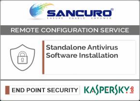 KASPERSKY Standalone Antivirus Software Installation