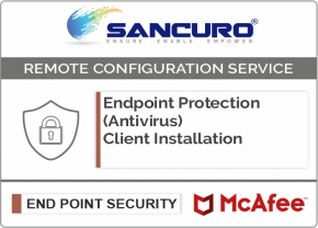 McAfee Endpoint Protection (Antivirus) Client Installation