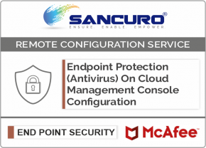 McAfee On Cloud Endpoint Protection (Antivirus) Management Console Configuration