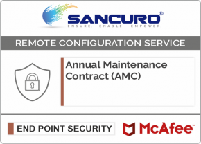 Annual Maintenance Contract (AMC) for McAfee Endpoint Protection (Antivirus) Management Console