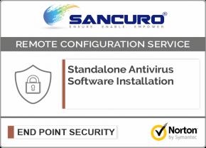 Norton Standalone Antivirus Software Installation