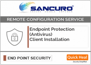 Quick Heal Endpoint Protection (Antivirus) Client Installation