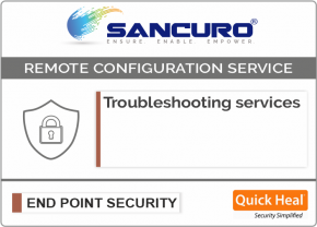 Quick Heal Endpoint Security Troubleshooting services