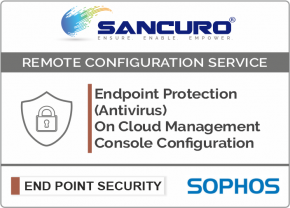 SOPHOS On Cloud Endpoint Protection (Antivirus) Management Console Configuration