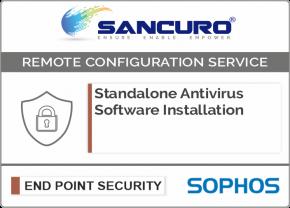 SOPHOS Standalone Antivirus Software Installation