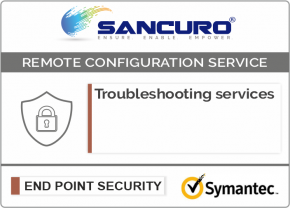 Symantec Endpoint Security Troubleshooting services