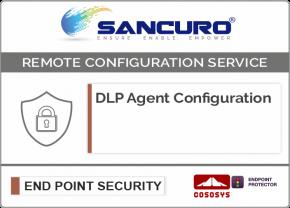CoSoSys DLP Agent Configuration