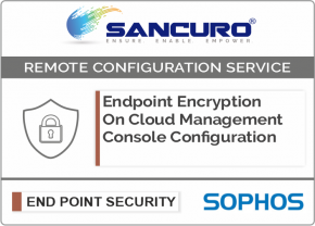 SOPHOS On Cloud Endpoint Encryption Management Console Configuration