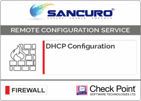 DHCP Configuration For Check Point Firewall