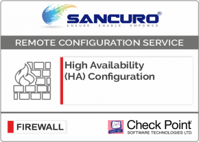 High Availability (HA) Configuration For Check Point Firewall