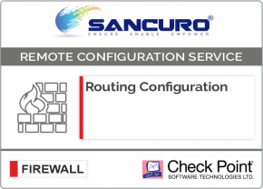 Routing Configuration in Check Point Firewall