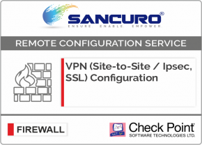 VPN (Site-to-Site / IPsec, SSL) Configuration in Check Point Firewall