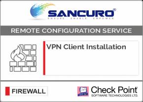 Check Point VPN Client Installation