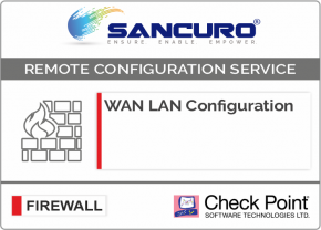 WAN LAN Configuration For Check Point Firewall