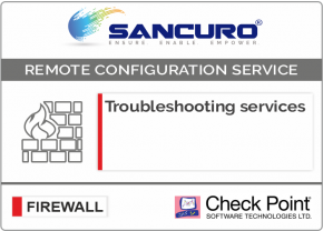 Check Point Firewall Troubleshooting services