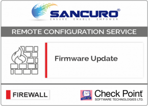 Firmware Update for Check Point Firewall