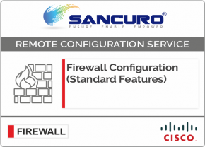 CISCO Firewall Configuration (Standard Features) For Model Series ASA 5510