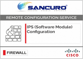 CISCO ASA IPS (Software Module) Configuration For Model Series ASA 5510