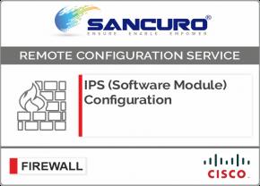 CISCO ASA IPS (Software Module) Configuration For Model Series ASA 5545, ASA5500
