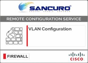 VLAN Configuration in CISCO Firewall