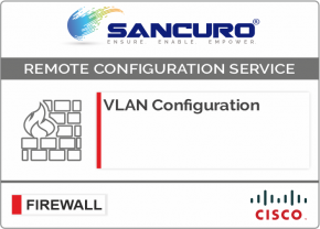 VLAN Configuration in CISCO Firewall For Model Series ASA 5510