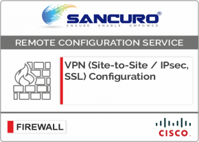 VPN (Site-to-Site / IPsec, SSL) Configuration in CISCO Firewall For Model Series ASA 5510