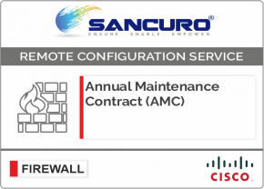 Annual Maintenance Contract (AMC) For CISCO Firewall For Model Series ASA 5510