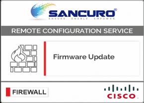 Firmware Update for CISCO Firewall