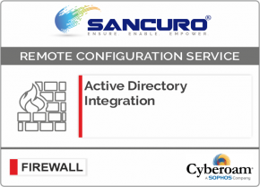 Active Directory Integration for Cyberoam Firewall For Model CR100iNG, CR200iNG, CR300iNG