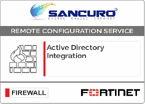Active Directory Integration for FORTINET Firewall For Model 600D, 800D, 900D, 500E