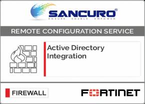 Active Directory Integration for FORTINET Firewall For Model 50E, 60E, 80E, 90E
