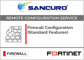 FORTINET Firewall Configuration (Standard Features) For Model 50E, 60E, 80E, 90E