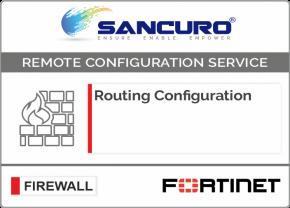 Routing Configuration in FORTINET Firewall For Model 50E, 60E, 80E, 90E