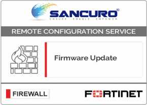 Firmware Update for FORTINET Firewall