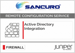 Active Directory Integration for JUNIPER Firewall For Model Series SRX100