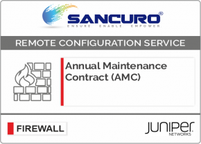 Annual Maintenance Contract (AMC) For JUNIPER Firewall