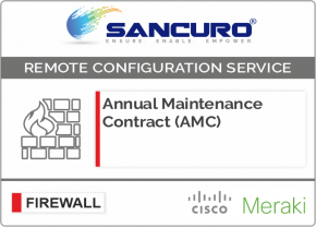 Annual Maintenance Contract (AMC) For MIRAKI Firewall