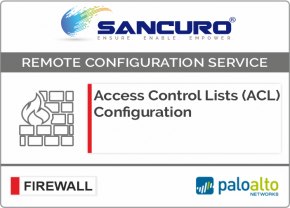 Access Control Lists (ACL) Configuration for Palo Alto Firewall For Model Series PA3000, PA3200