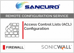 Access Control Lists (ACL) Configuration for SONICWALL Firewall For Model TZ300, TZ400, TZ500, TZ600