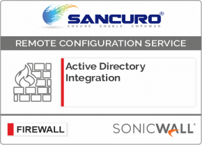 Active Directory Integration for SONICWALL Firewall For Model TZ300, TZ400, TZ500, TZ600