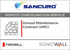 Annual Maintenance Contract (AMC) For SONICWALL Firewall