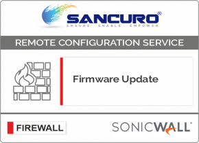 Firmware Update for SONICWALL Firewall