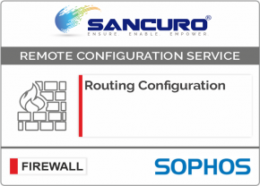 Routing Configuration in SOPHOS Firewall For Model Series XG80, XG100