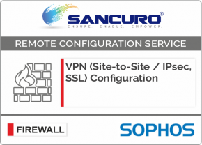 VPN (Site-to-Site / IPsec, SSL) Configuration in SOPHOS Firewall For Model Series XG80, XG100