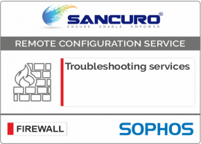 SOPHOS Firewall Troubleshooting services For Model Series XG80, XG100