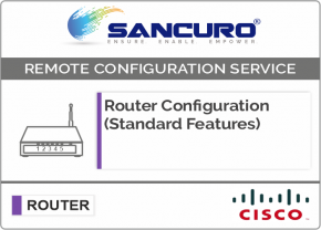 CISCO Router Configuration (Standard Features)